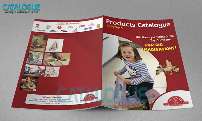 in catalogue giáo dục