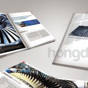 Mẫu catalogue công nghiệp ấn tượng