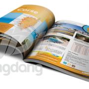 Mẫu catalogue du lịch kèm bản đồ