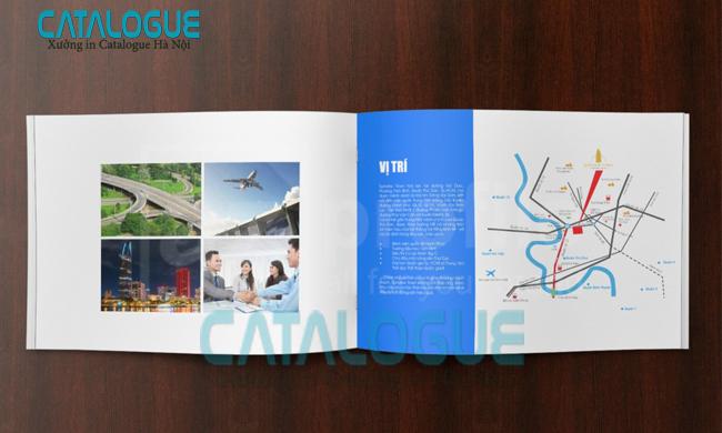 thiết kế catalogue bất động sản