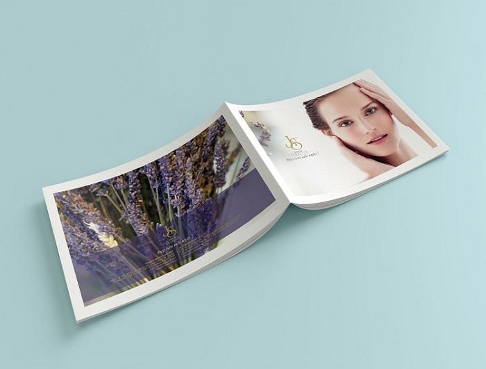 Catalogue thiết kế sang trọng