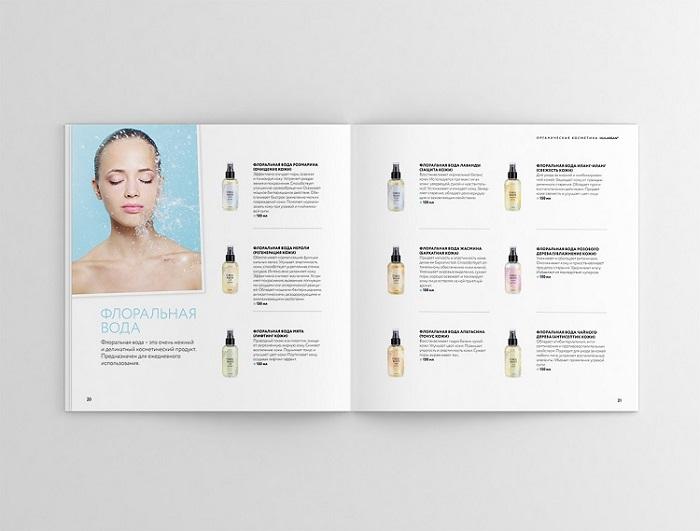 Catalogue thiết kế liệt kê sản phẩm
