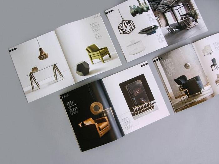 Catalogue nội thất giúp khách hàng dễ dàng chọn mua sản phẩm