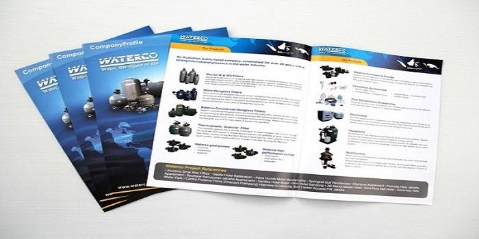 Mẫu catalogue thiết kế dưới dạng liệt kê sản phẩm