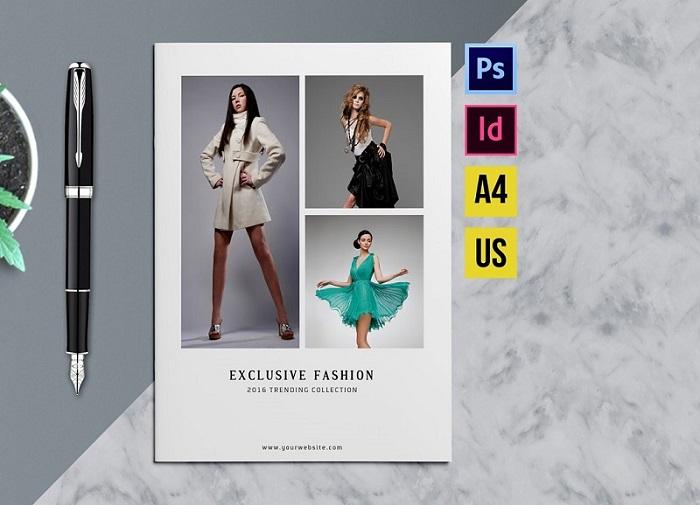 Thiết kế catalogue thời trang cần chú trọng đến hình ảnh sử dụng