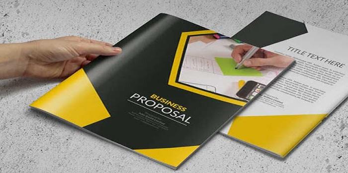 Thiết kế catalogue đen - vàng gây ấn tượng mạnh mẽ cho khách hàng