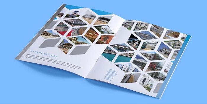 Catalogue có thiết kế vô cùng độc đáo