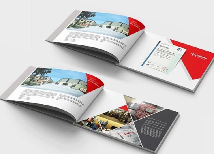 Phong cách thiết kế catalogue ấn tượng