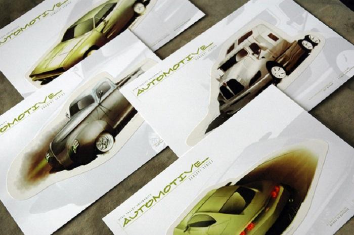 Catalogue thiết kế nền trắng khá độc lạ