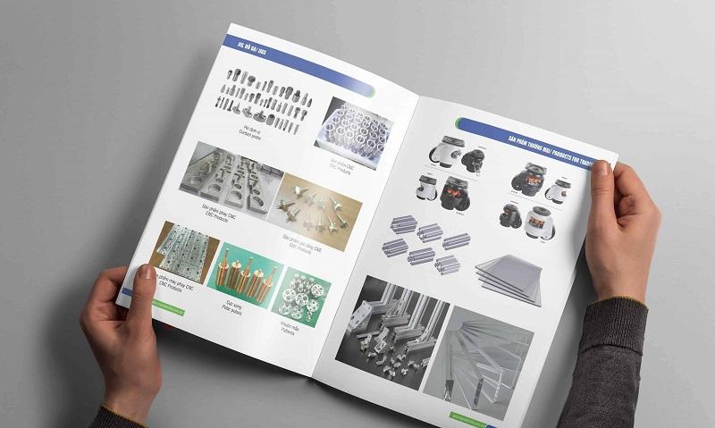 In catalogue sử dụng rộng rãi trong đa dạng lĩnh vực
