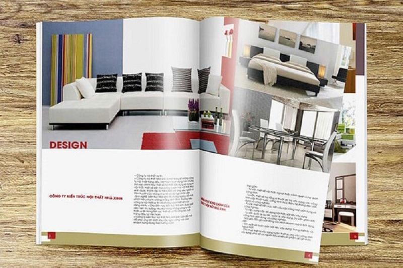 Catalog cho lĩnh vực thiết kế nội thất
