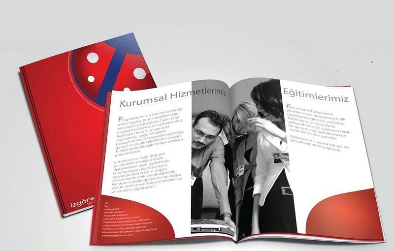 Catalogue ấn tượng thông qua con chữ