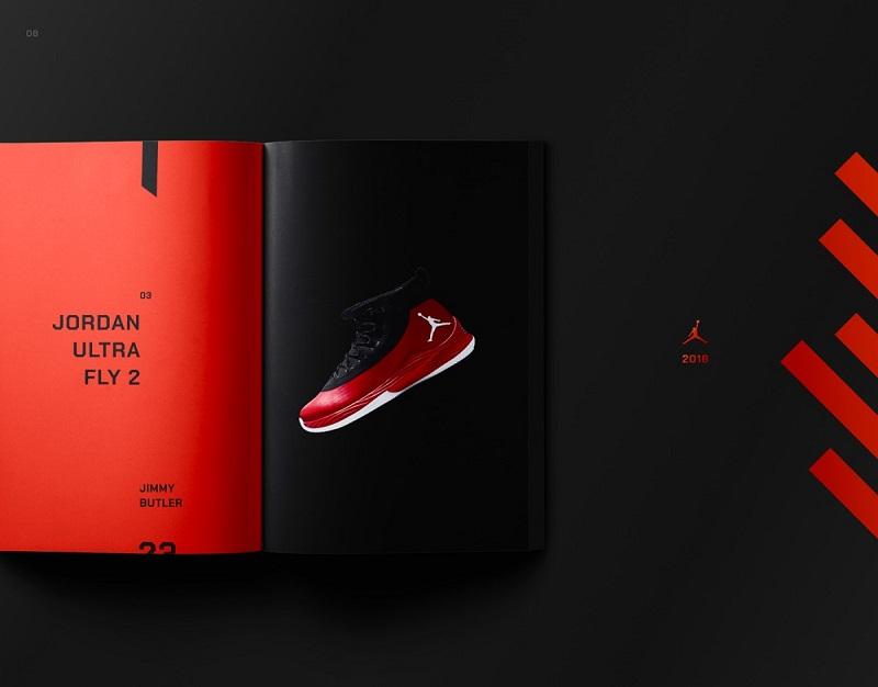 Catalogue đậm chất thể thao cá tính của giày Nike Jordan