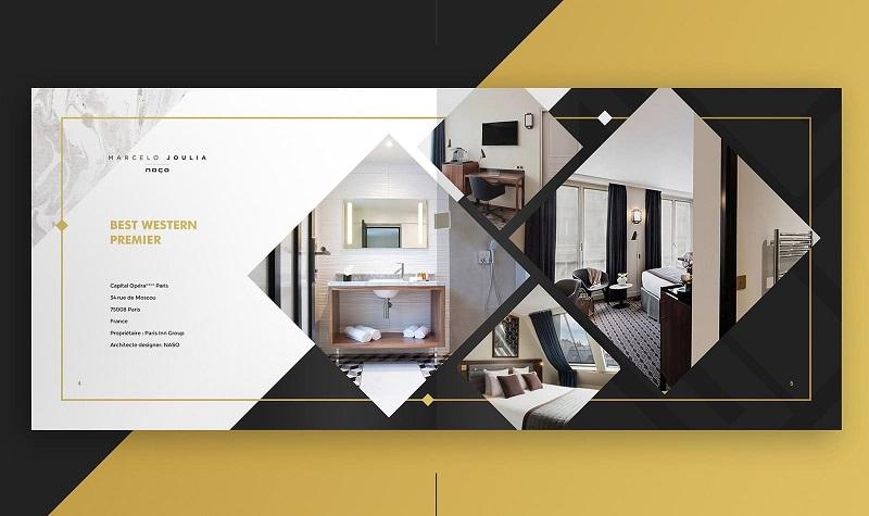 Quảng bá nội thất sáng tạo với Catalogue ngang