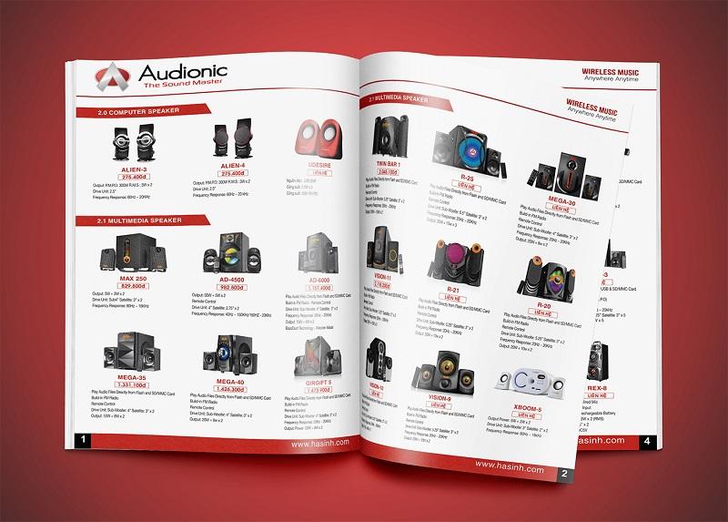 Catalogue đóng vai trò quan trọng trong sự phát triển của doanh nghiệp