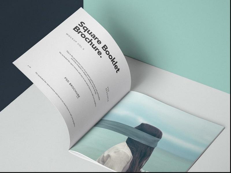Catalogue khổ vuông độc đáo