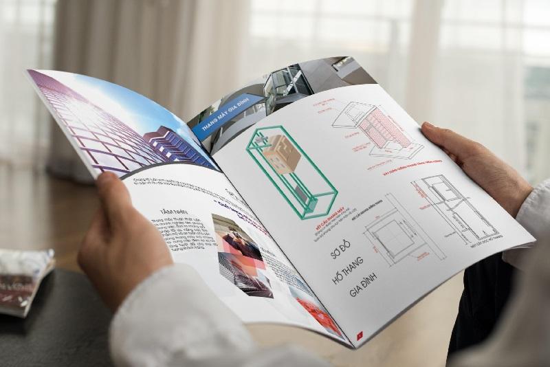 Khách hàng cần chọn giấy in Catalogue phù hợp