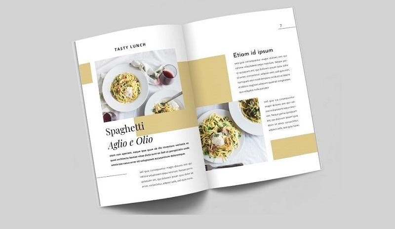 Catalogue dành cho công ty kinh doanh ẩm thực