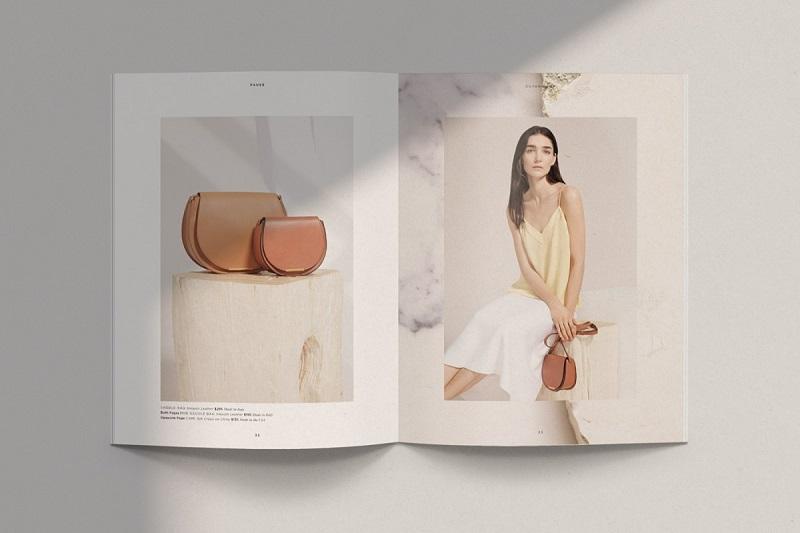 Hình ảnh là yếu tố tiên quyết tạo nên sức hấp dẫn của cuốn catalog