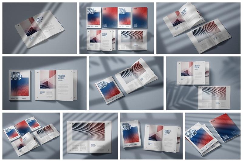 Mẫu catalogue khổ dọc siêu đẹp